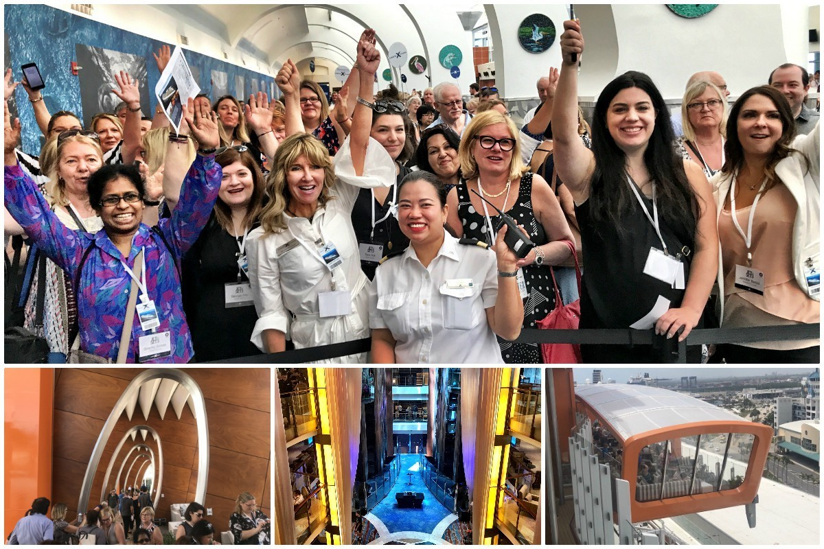 "Two ships, one weekend: Celebrity Cruises Canada gives agents the ""jet set"" treatment"