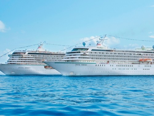 Bookings open for Crystal's 2022 World Cruise