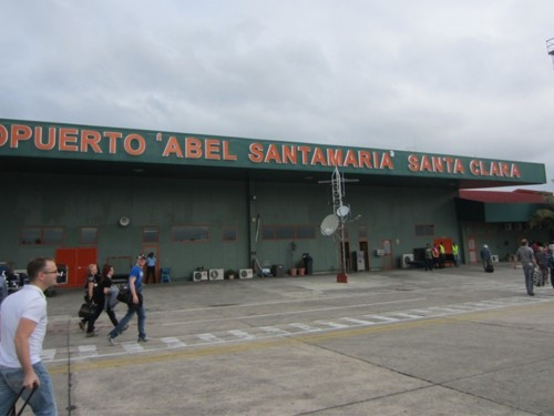 Cuba's Santa Clara airport suspends operations due to storm