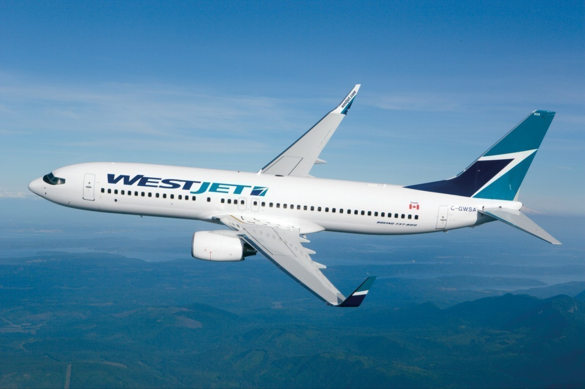 WestJet's first-ever Portland flight takes off