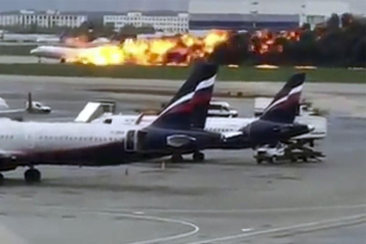 Russian plane crash claims 41 lives
