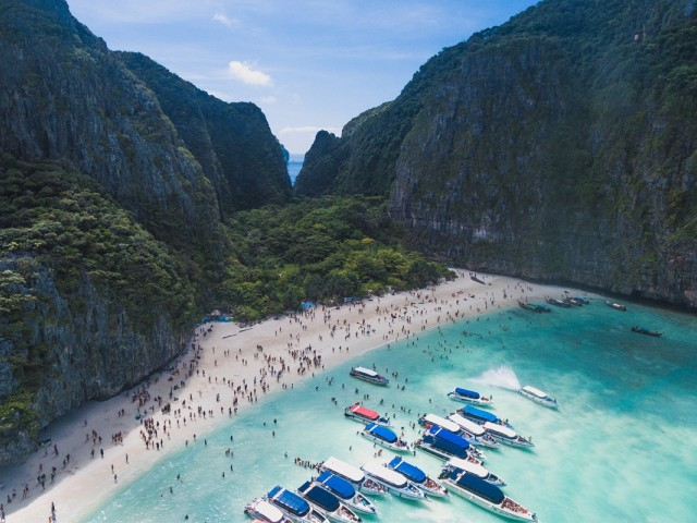 Thailand's famous Maya Bay is closed until 2021