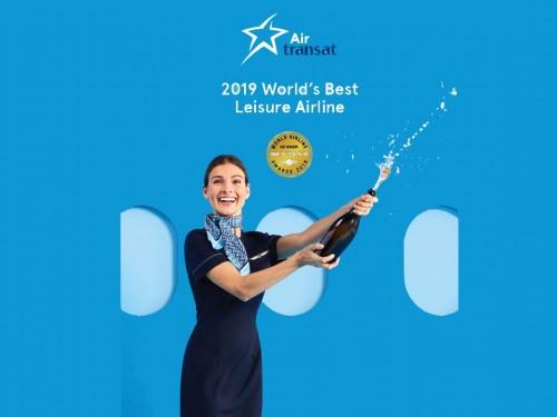 Air Transat named World's Best Leisure Airline