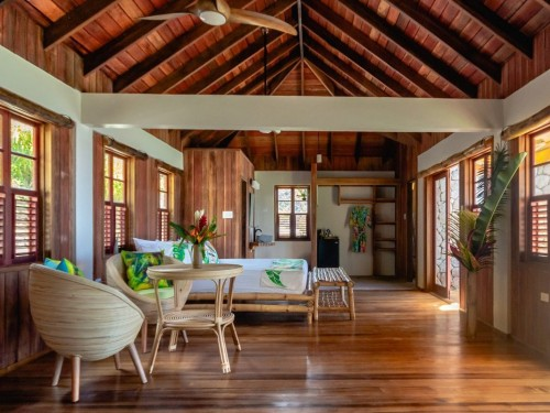 A brand new eco-friendly property just opened in Dominica