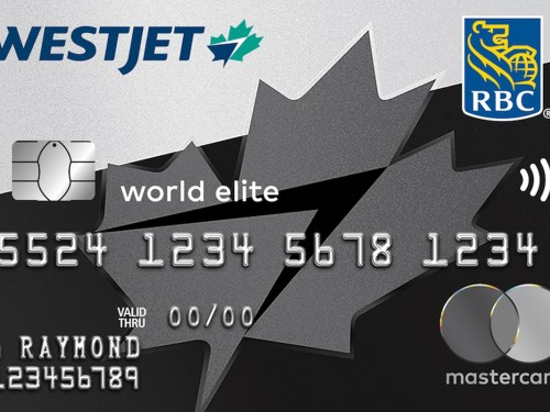 WestJet RBC Mastercard now includes a very special offer