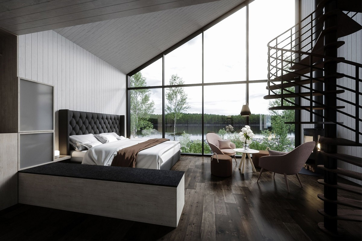 First look at the Arctic's new floating spa hotel