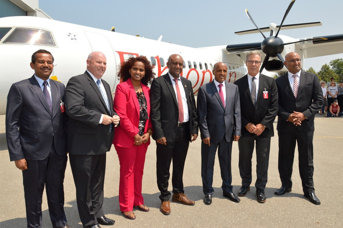 Ethiopian Airlines receives 25th Dash 8-400 aircraft