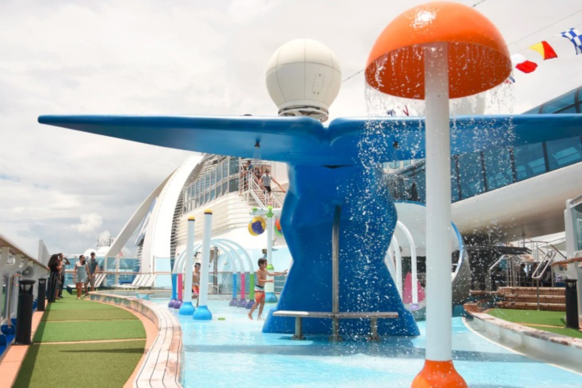 Princess Cruises adds family-friendly splash park to Caribbean Princess