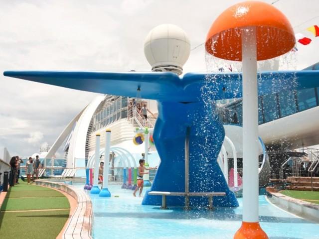 Princess Cruises adds family-friendly splash park to Caribbean Princess