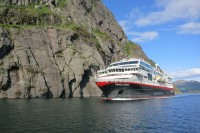 Three Hurtigruten ships to be renamed following hybrid makeovers