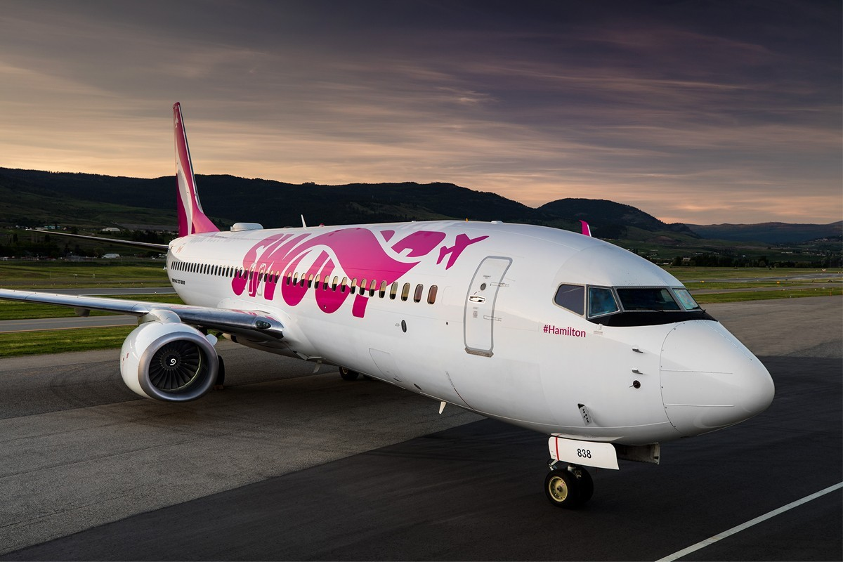 Damaged plane forces Swoop to cancel 7 flights