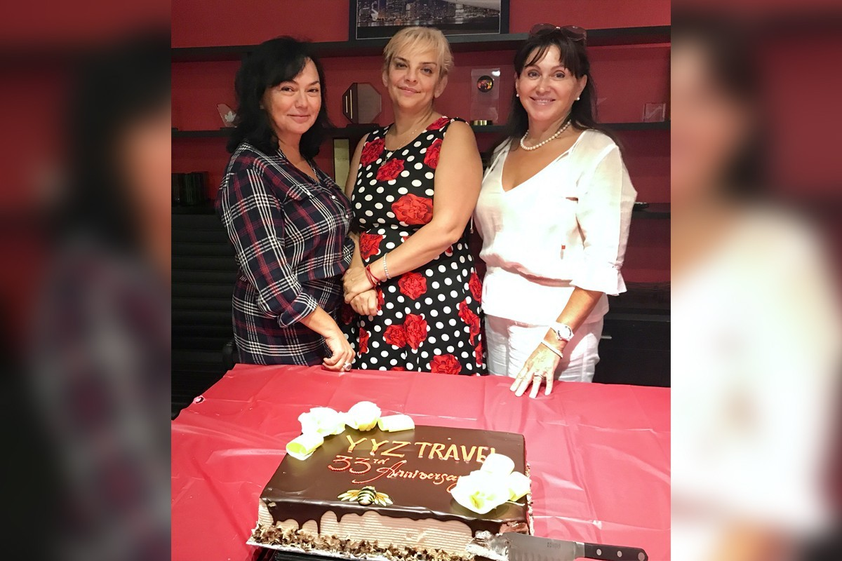 YYZ Travel celebrates 33 years in business