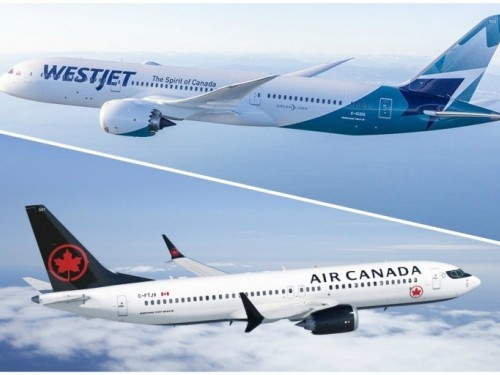Air Canada challenges WestJet/Onex deal