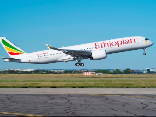 Ethiopian Airlines rolls out Wi-Fi aboard A350 fleet