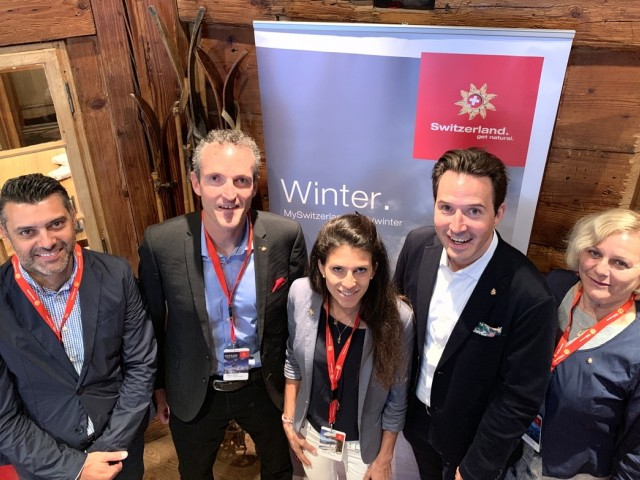 Winter is coming and Switzerland Tourism is ready