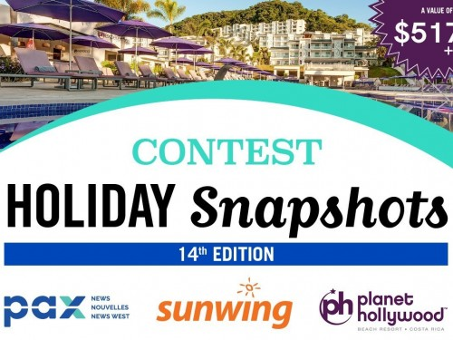Wanna go to Costa Rica? Submit your photos to the Holiday Snapshots contest!