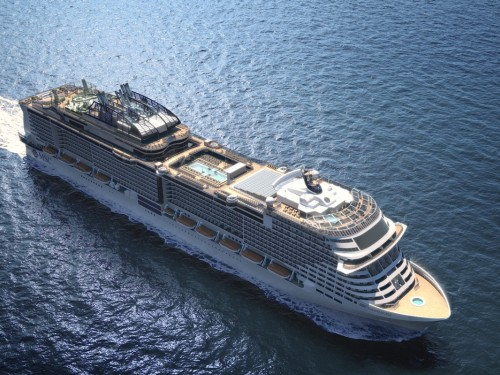 Cleaner cruising: MSC Grandiosa to debut major eco-friendly technologies