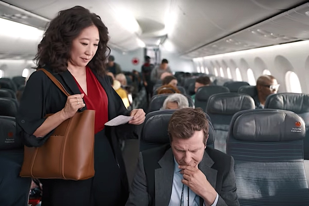 "Sandra Oh stars in Air Canada's new ""Travel Like a Canadian"" campaign"