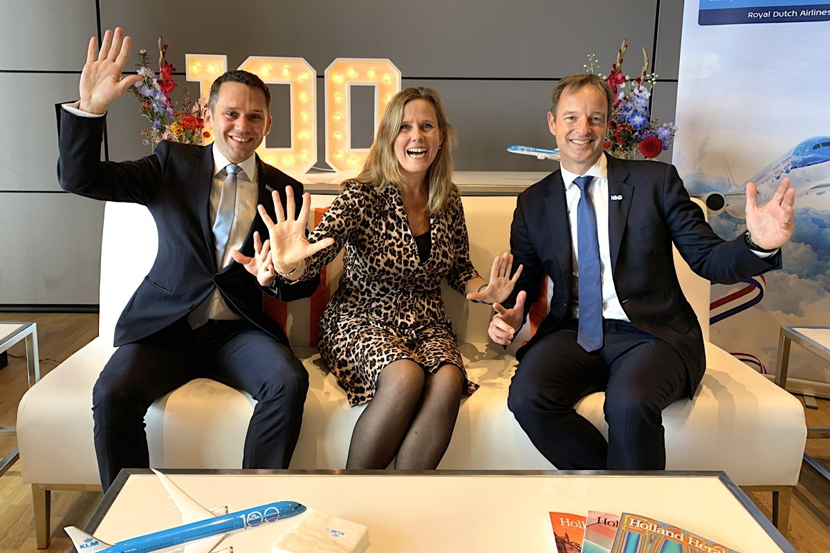 After turning 100, KLM sounds off on the secret to a happy and successful life