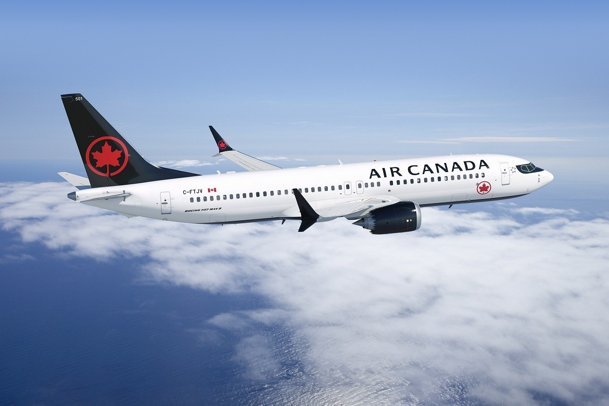 Air Canada removes Boeing 737 MAX 8 through February 2020