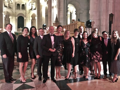 "Insight Vacations & Luxury Gold take home ""Office of the Year"" award"