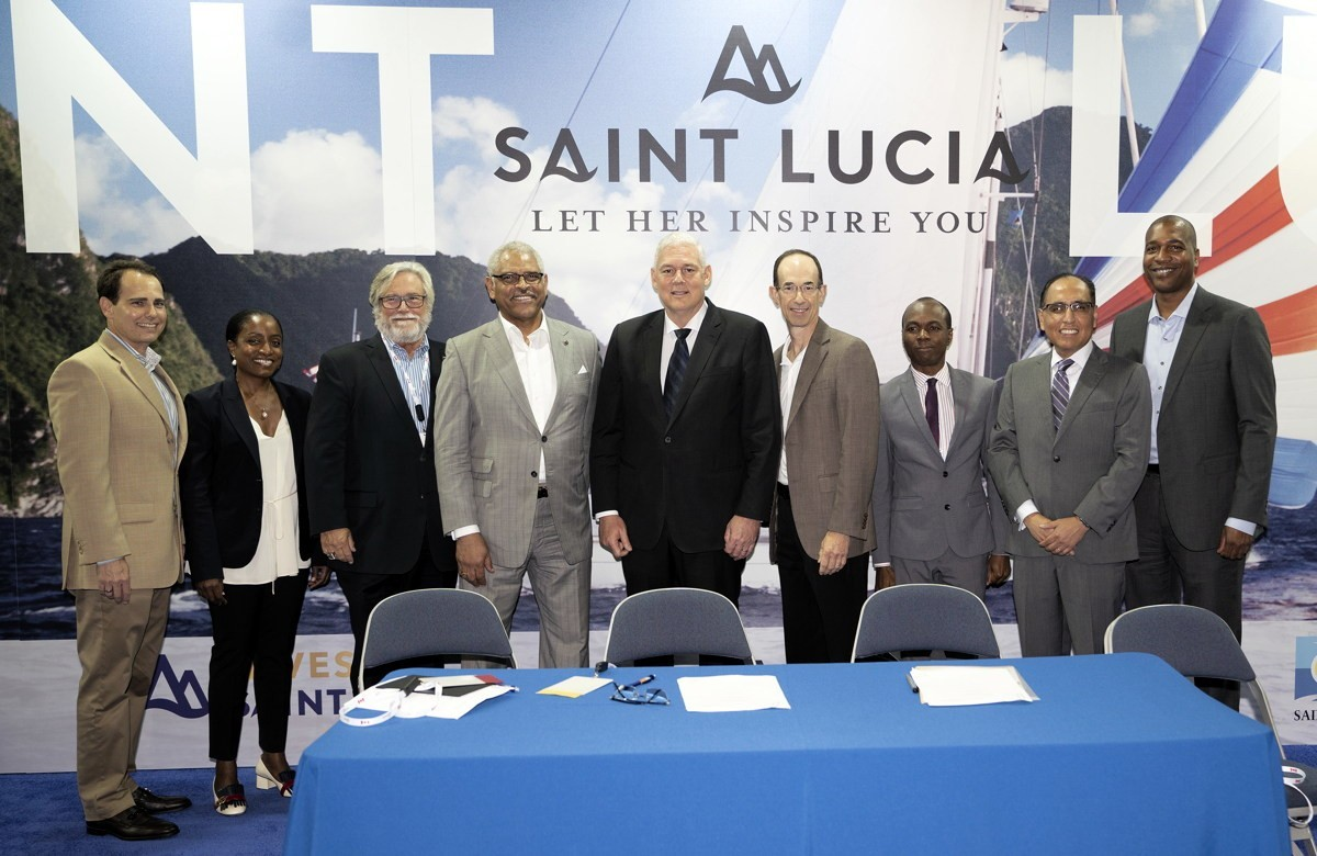 """""""One more reason to visit."""" A new cruise port is coming to St. Lucia"""