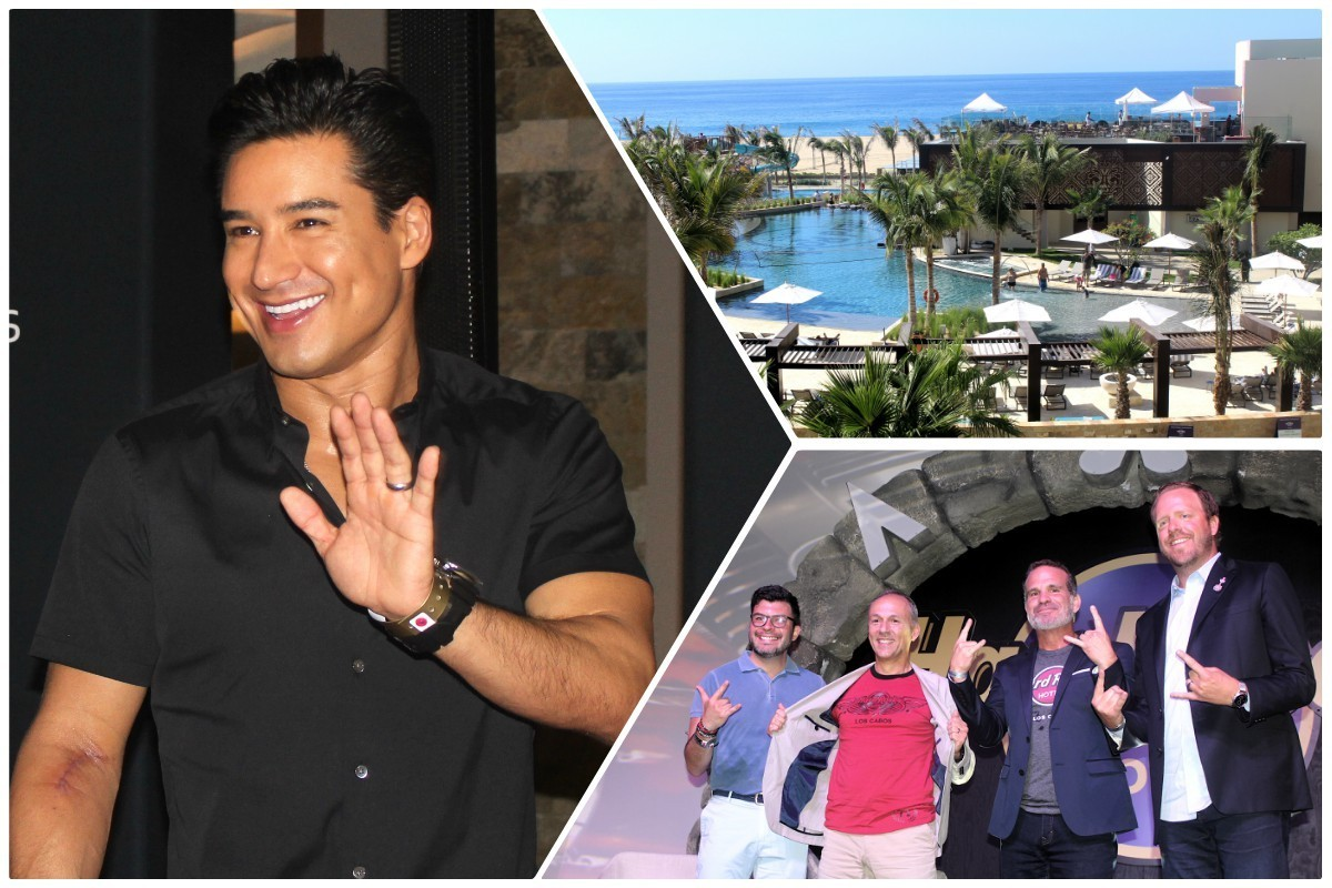 PAX On Location: celebs, smashing guitars mark the opening of Hard Rock Hotel Los Cabos