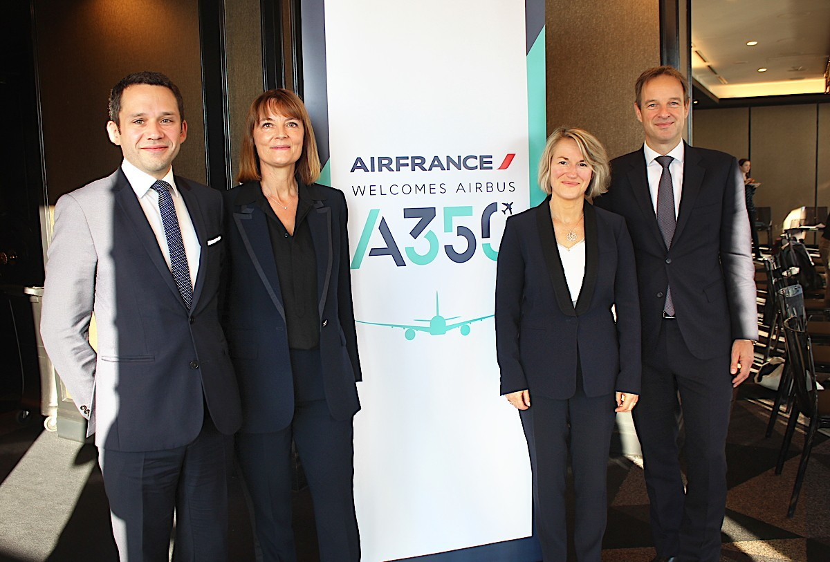 Air France invests in modernization, sustainability with arrival of new Airbus A350