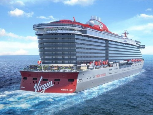 Virgin Voyages reveals the name of its second ship