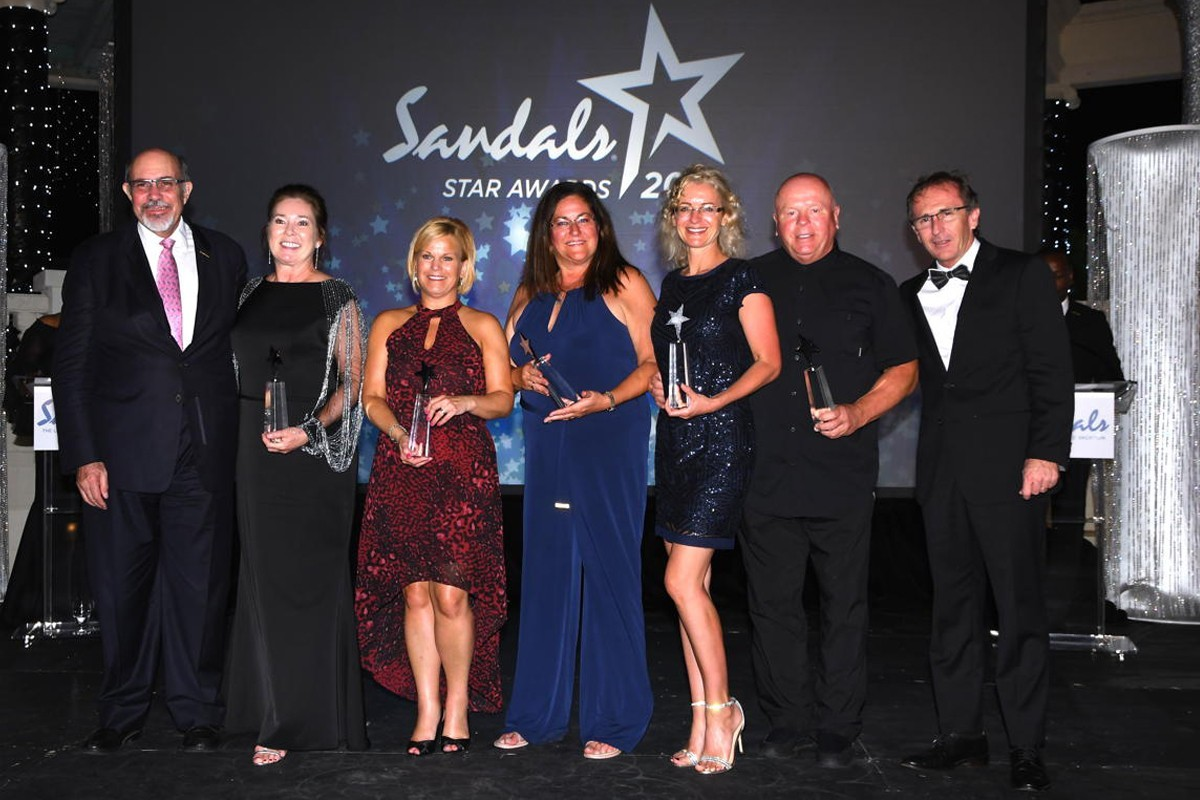 Two TPI advisors recognized in Sandals Chairman's Royal Club