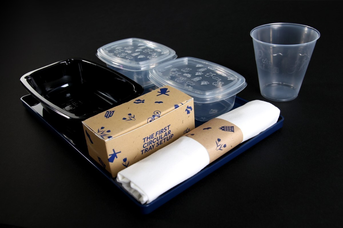 KLM debuts recycled catering supplies on Amsterdam to Vancouver flight