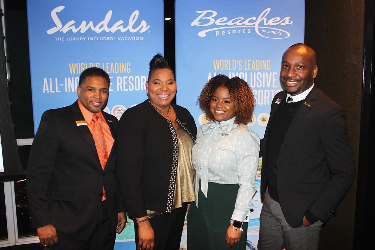 Sandals hosts appreciation dinner for top-selling travel agent partners