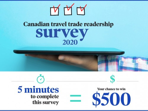 Complete our readership survey for a chance to win $500!