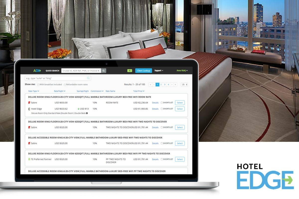 Travel Edge launches new Hotel EDGE through ADX