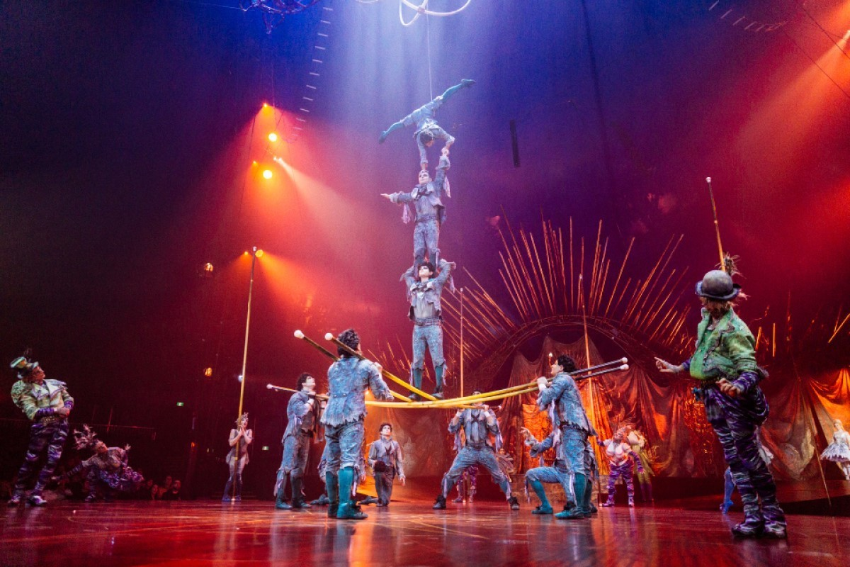 Cirque du Soleil takes to the skies with Air Canada partnership