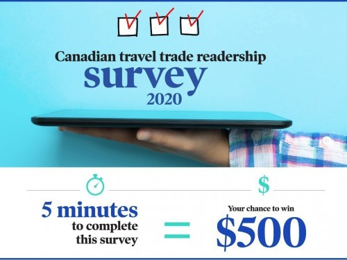 Complete our readership survey for your chance to win $500!