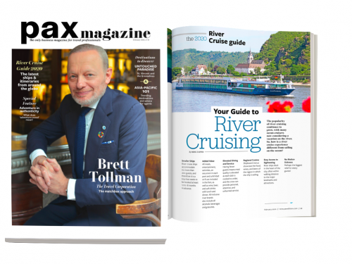 February's PAX magazine features TTC's Brett Tollman, plus a new look!