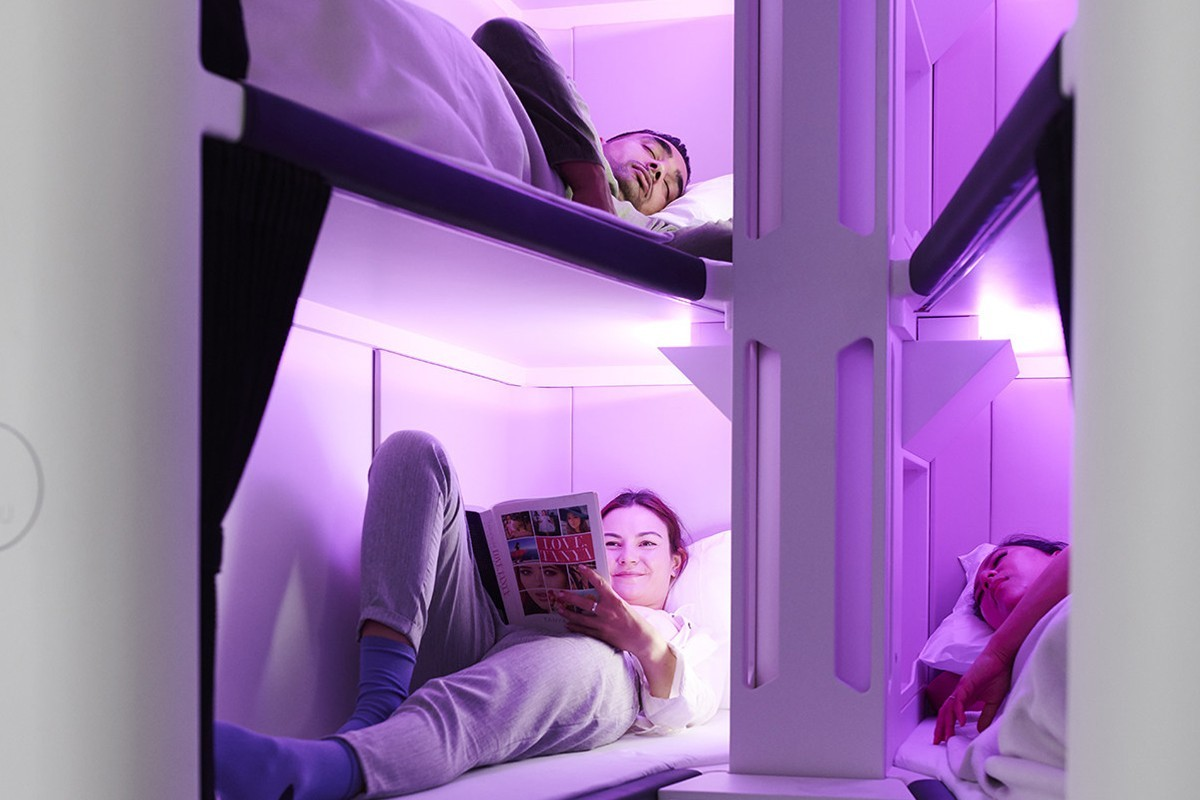 Air New Zealand introduces sleep pods for economy class travellers