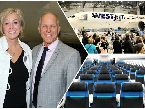 WestJet gives Toronto the Dreamliner treatment, awards top travel partners