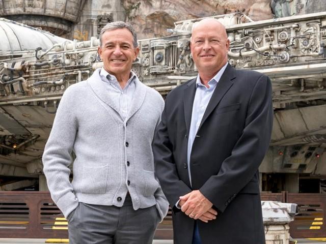 Bob Chapek named CEO of The Walt Disney Company