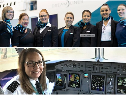VIDEO: WestJet campaign calls for more women in aviation