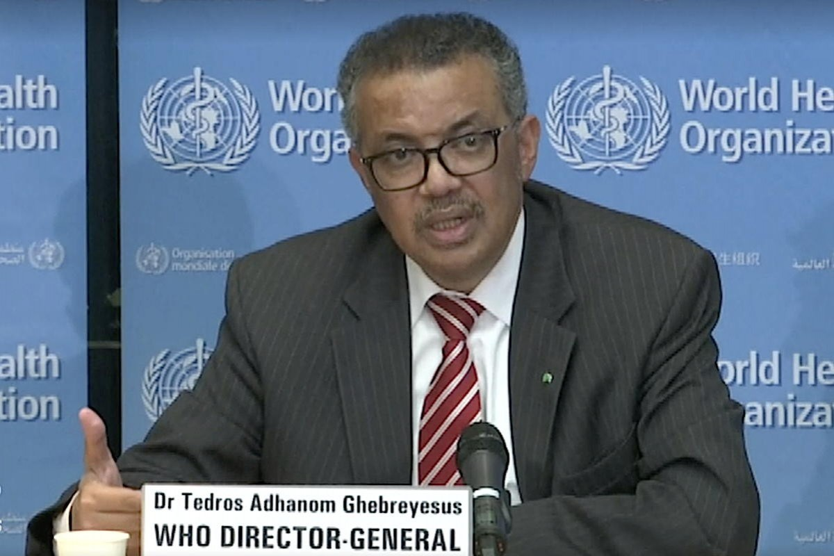 WHO declares COVID-19 a global pandemic