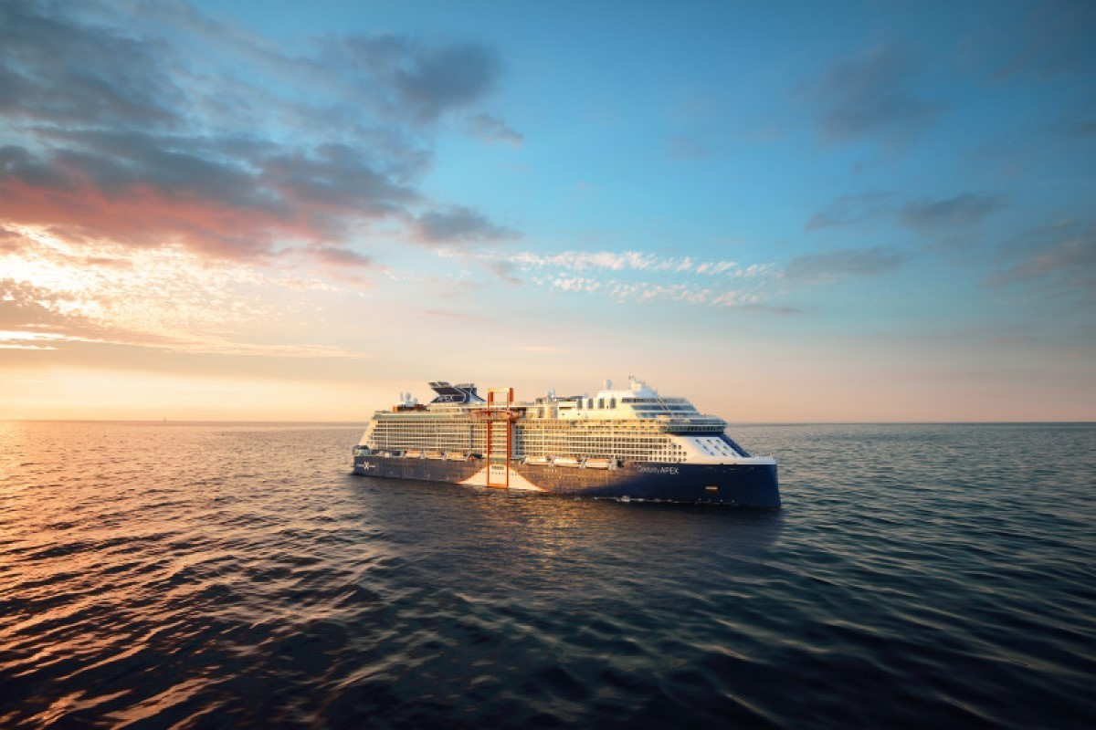 Celebrity welcomes Apex in first-ever virtual ship delivery