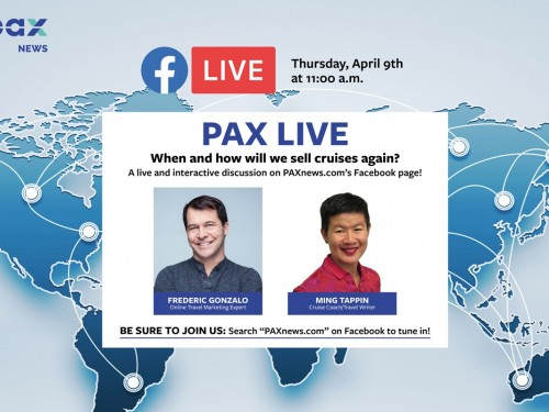 When & how will we ever sell cruises again? Facebook Live chat today (April 9th)