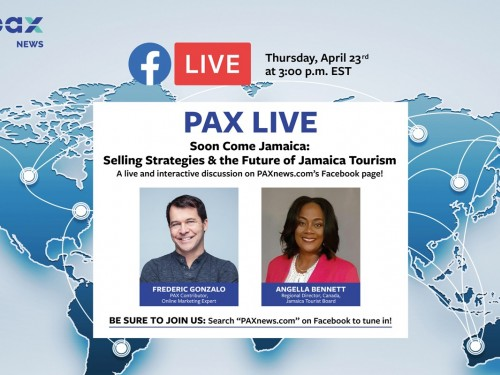 Selling strategies & the future of Jamaica tourism: FB Live chat today (April 23), 3 p.m.