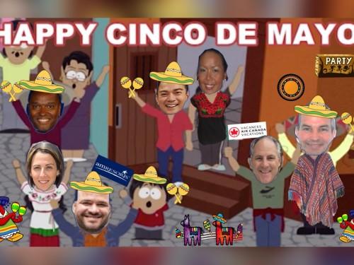 ACV & AMResorts invite agents to virtual Cinco de Mayo party!