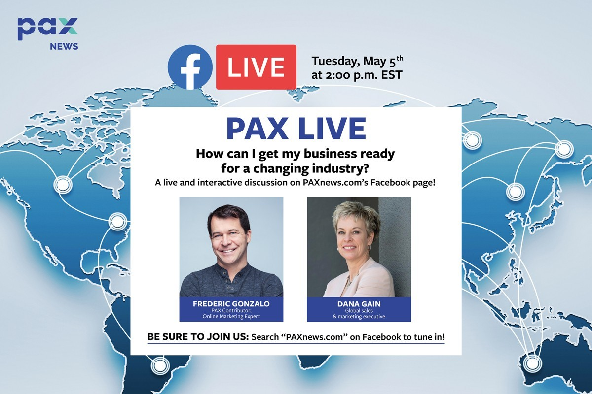 How can I get my business ready for a changing industry? Live with Dana Gain, today, 2 p.m. EST