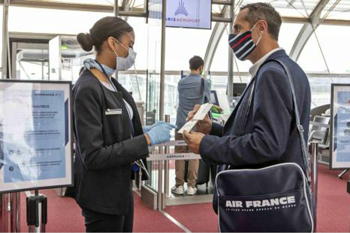 Air France & KLM make face masks mandatory, starting May 11th