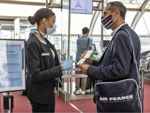 Air France & KLM make face masks mandatory, starting May 11th