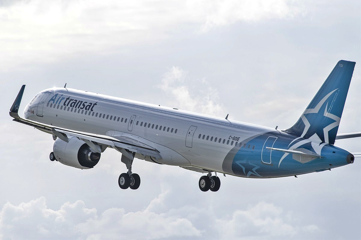 Air Transat is temporarily suspending its flights through June